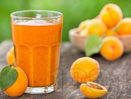 Нектар / сок / сироп от кайсии в бутилки (зимнина) - снимка на рецептата